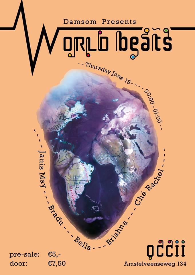 WorldBeats presented by DamSom w/ BRADU + BRISHNA + BELLA'S MELODY + CHÉ RACHEL + JANIS MAY