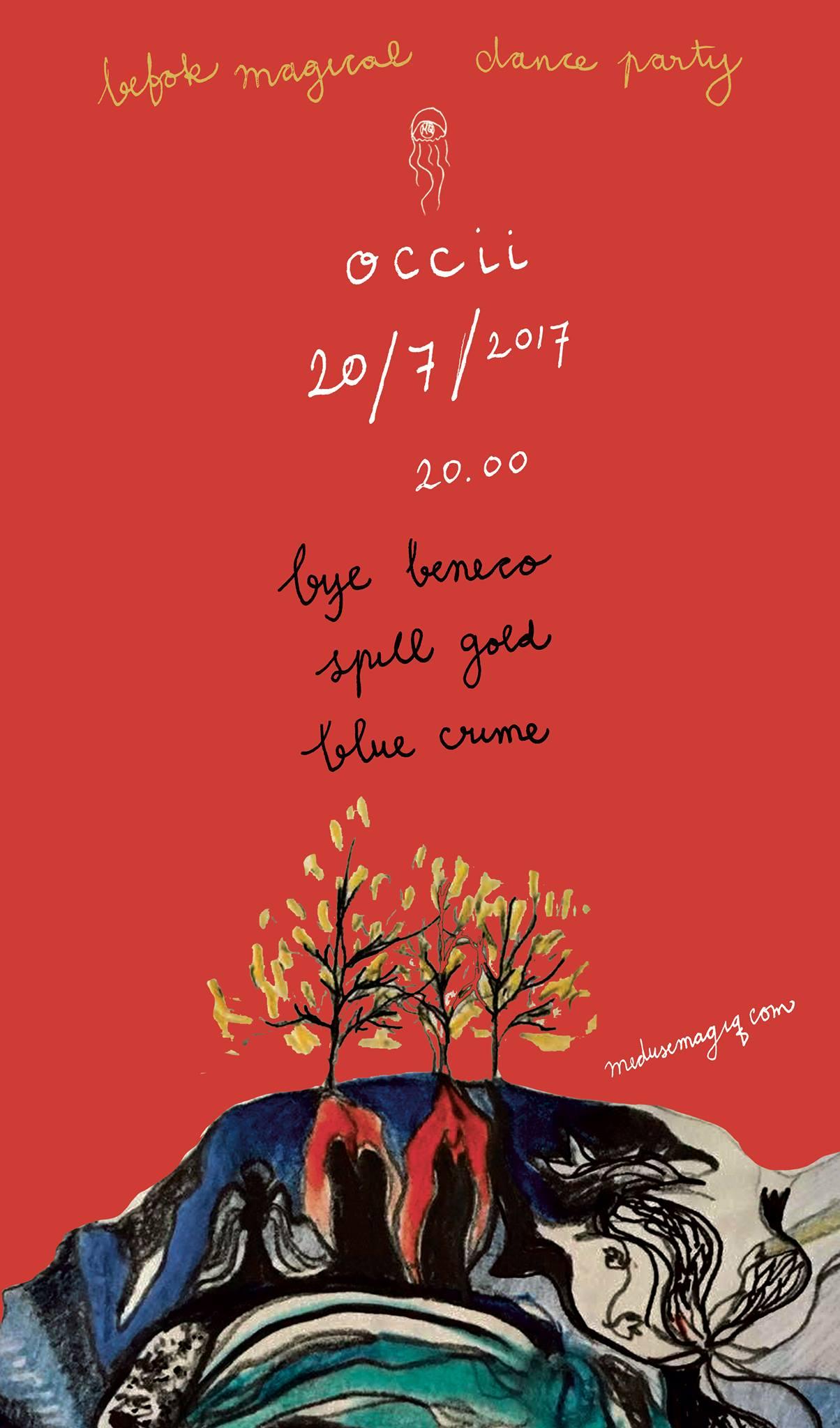 Meduse MagiQ w/ BYE BENECO (Johannesburg, ZA) + SPILL GOLD + BLEU CRIME + Dj Ciao Beneco & DJ the Stranger