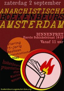 Anarchist Bookfair Amsterdam Afterparty w/ THE AVONDEN + LIFELESS PAST + KEES PEERDEMAN + DJ GINGERMOON