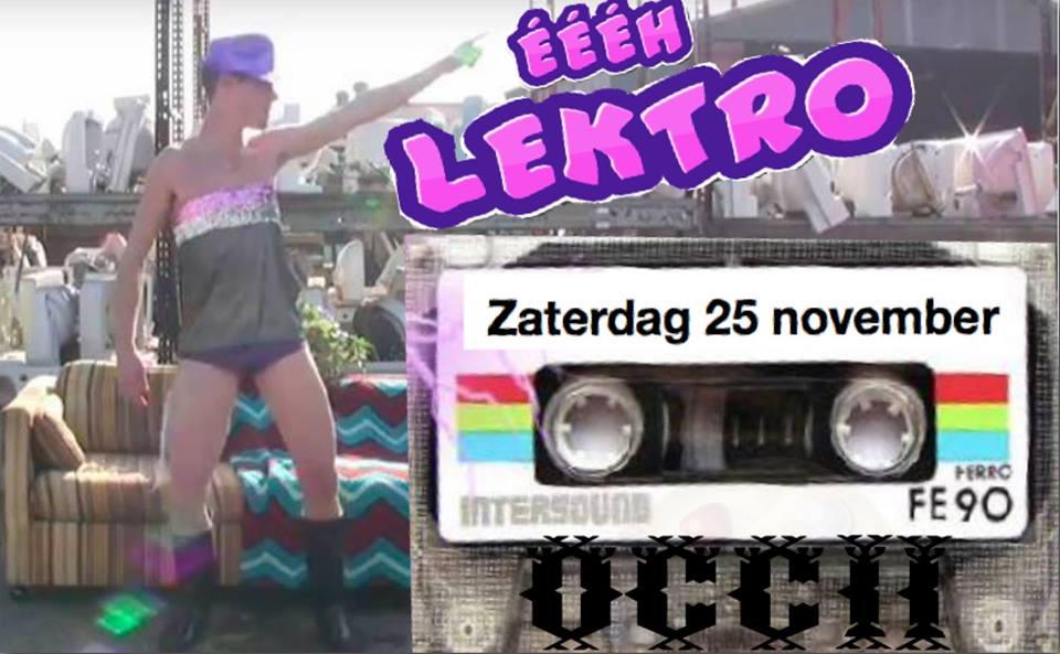 ÉÉÉÉH LEKTRO!! w/ ELEKTROROBICS PARTY FITNESS