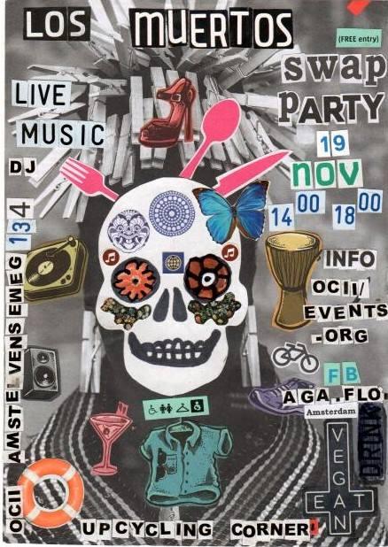 Los Muertos Swap Party w/ TEENAGE TITS + FIN & UPCYCLING Corner + DJ
