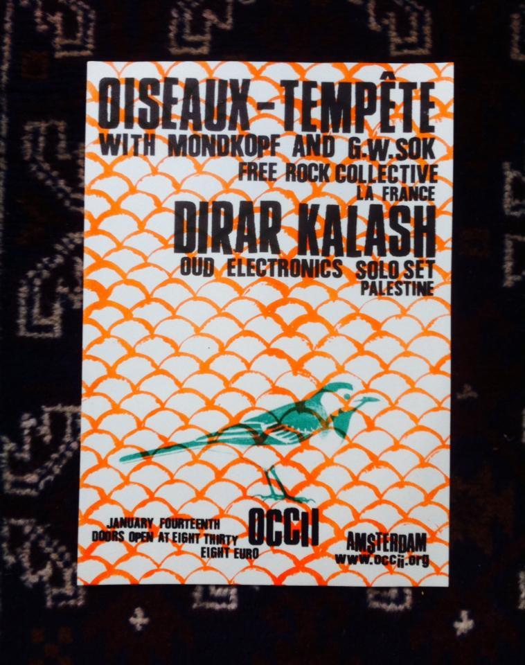 OISEAUX-TEMPÊTE (fr, w/ Mondkopf & G.W. Sok) + DIRAR KALASH (ps)