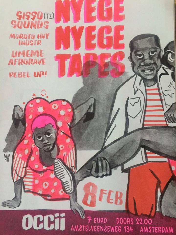 SISSO SOUNDS (TZ) + Moroto Hvy Indstr (Nyege Nyege Tapes) + UMEME + REBEL UP! DJS
