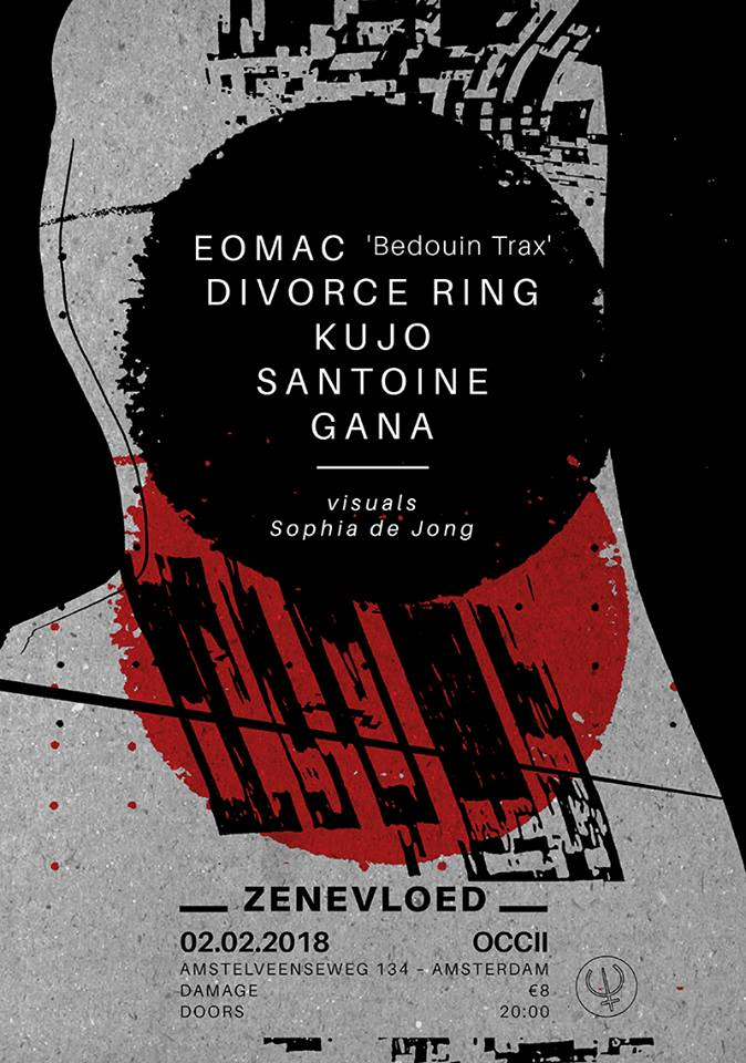 EOMAC (UK, 'Bedouin Trax') + DIVORCE RING (US) + KUJO (LB) + SANTOINE + GANA (RS)