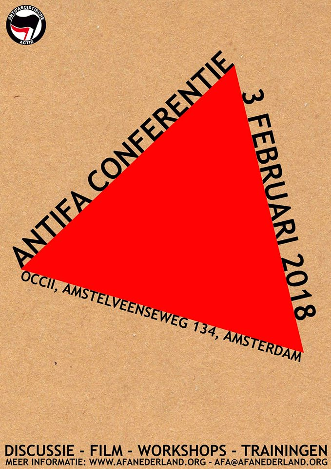 Anti-Fascistische Conferentie w/ DISCUSSIE - FILM - WORKSHOPS - TRAININGEN