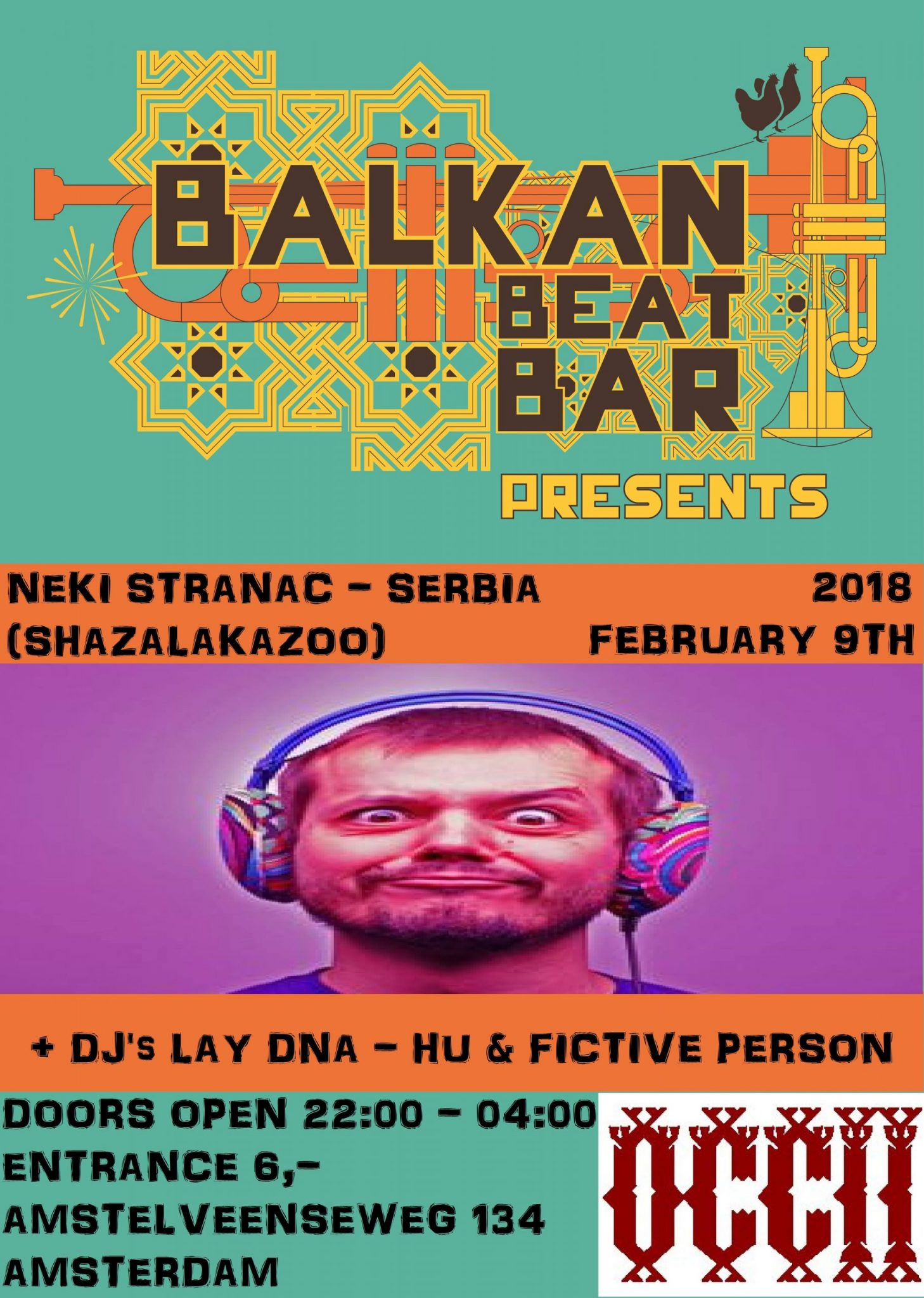 DJ NEKI STRANAC (RS, Shazalakazoo) + LAY DNA (HU) & Fictive Person