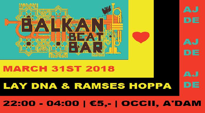 Balkan Beat Bar XIX - From us, with love!