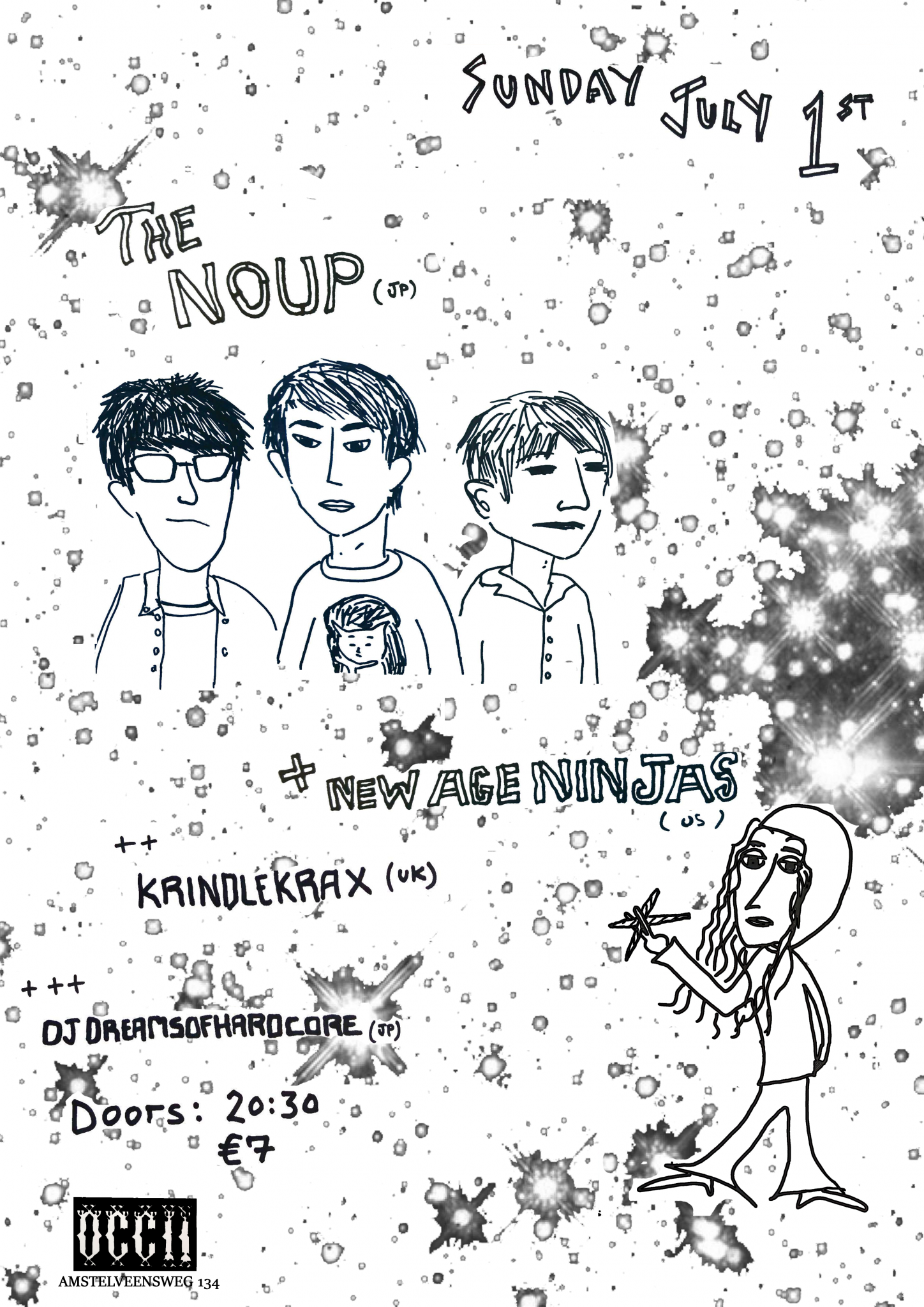 THE NOUP (JP) + NEW AGE NINJAS (US) + KRINDLEKRAX (UK) + DJ DreamsOfHardcore