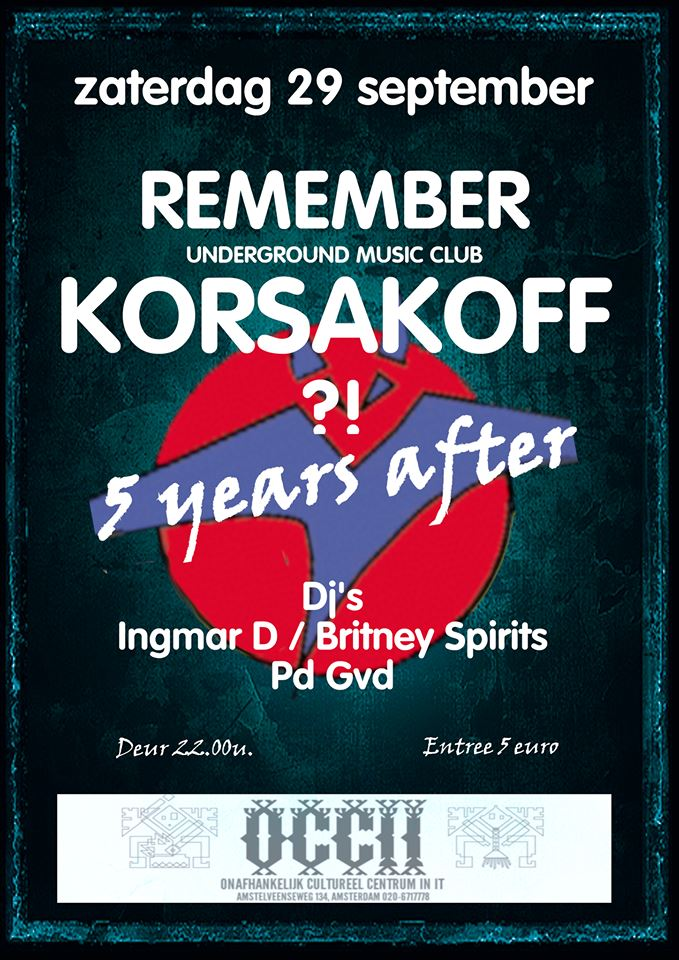 Remember Korsakoff ?! - 5 Years After