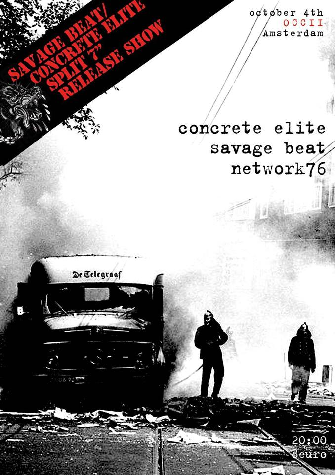 CONCRETE ELITE (US) + SAVAGE BEAT + NETWORK 76