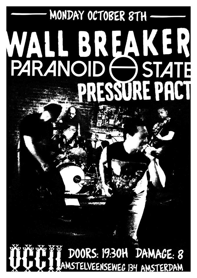 WALL BREAKER (US) + PARANOID STATE + PRESSURE PACT