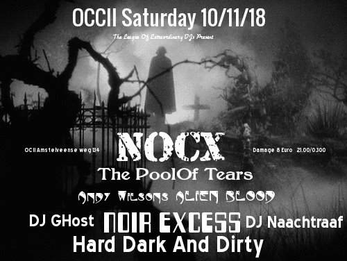 Noir Excess w/ NOCX + The Pool Of Tears