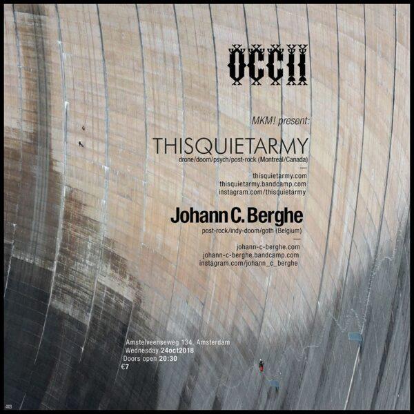 thisquietarmy (CA) + Johann C. Berghe