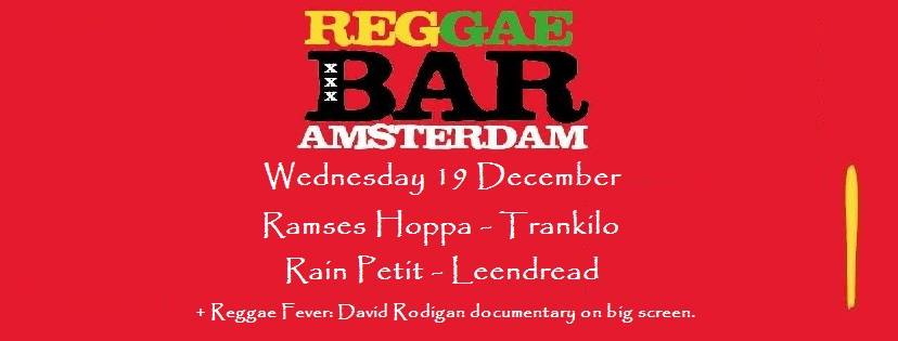 RAMSES HOPPA + TRANKILO + RAIN PETIT + LEENDREAD + REGGAE FEVER: DAVID RODIGAN (FILM, UK, 59 minutes))