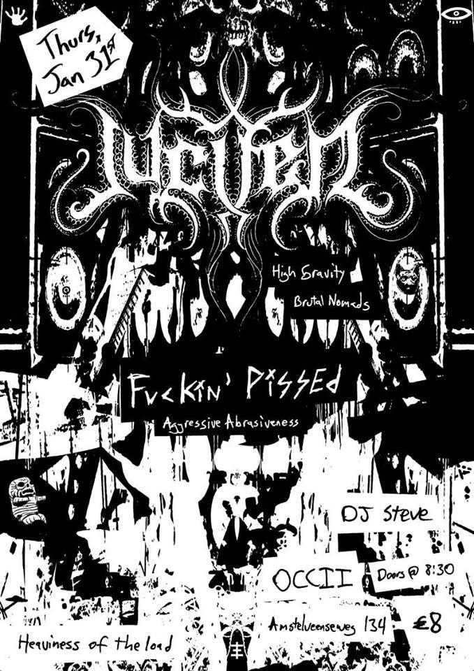 JUCIFER (US, Doom Sludge Pioneers) + FUCKIN' PISSED