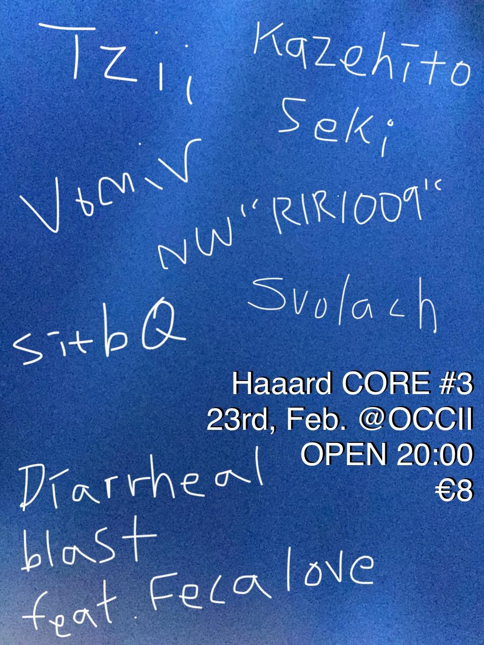 Diarrheal Blast ft. Fecalove + Kazehito Seki + NW »RIR1009» + sitbQ + Tzii + Vomir + Svolach
