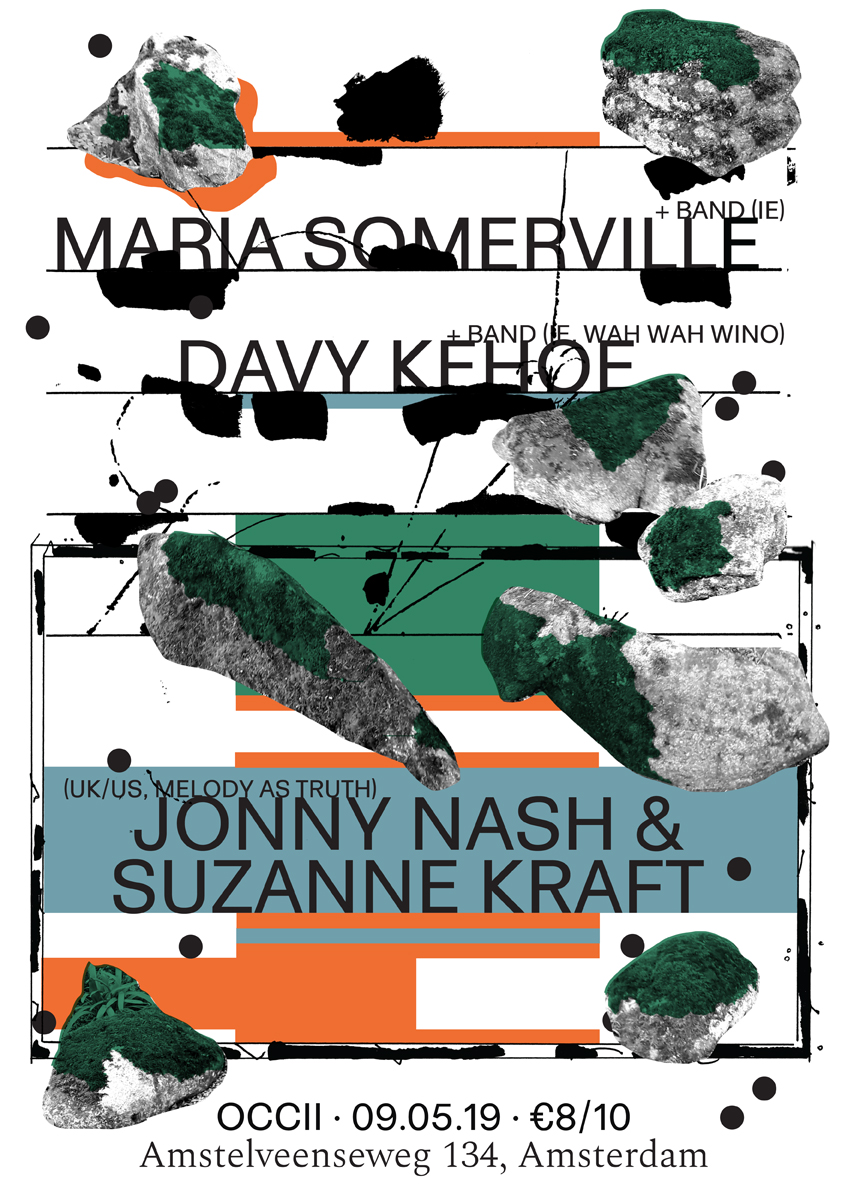 MARIA SOMERVILLE & BAND (IE) + DAVY KEHOE & BAND (IE, Wah Wah Wino) + Jonny Nash & Suzanne Kraft (US/UK, Melody As Truth)