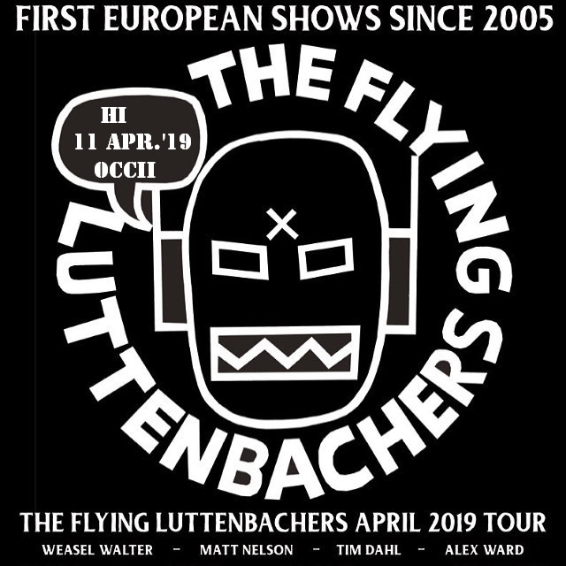 THE FLYING LUTTENBACHERS (US) + UNIVERSITY CHALLENGED