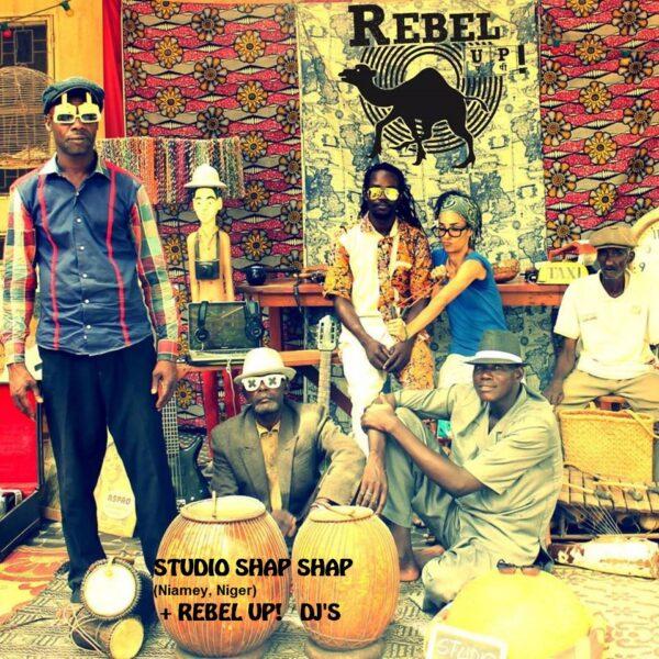 STUDIO SHAP SHAP (Niamey, Niger) + REBEL UP! DJ'S