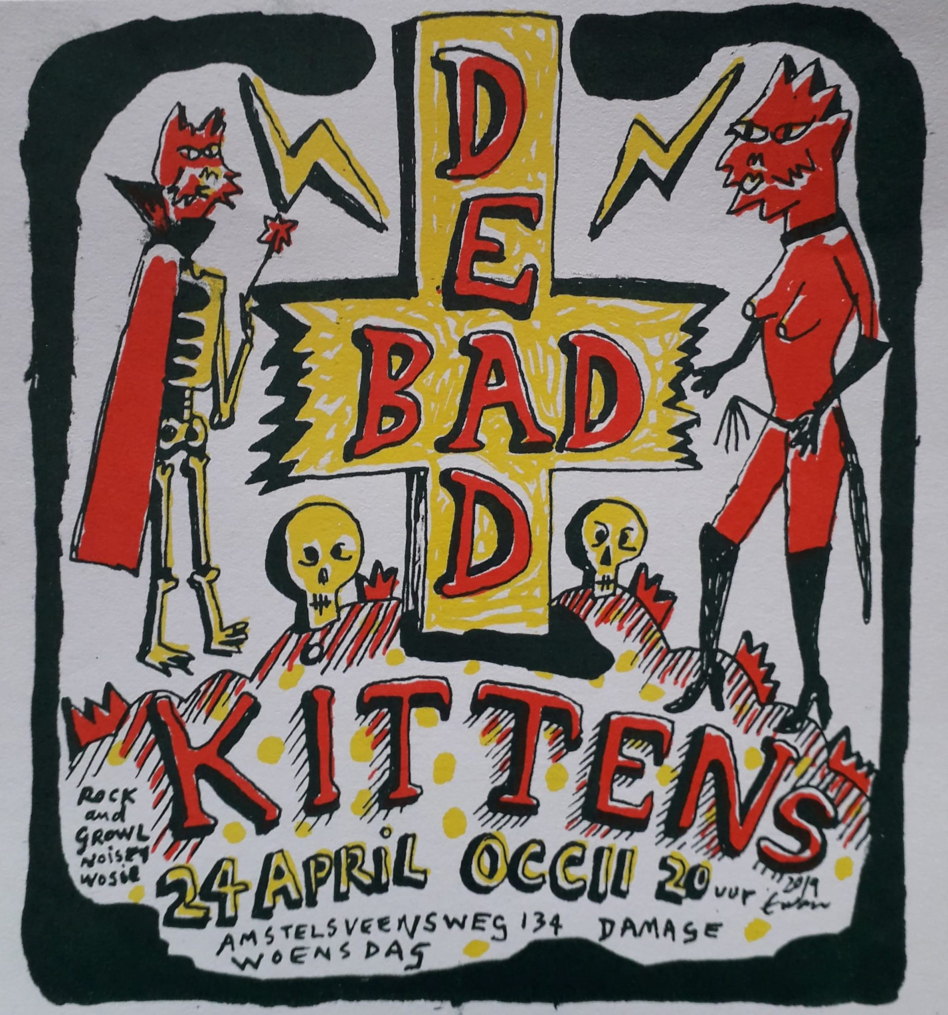 DEAD KITTENS (Berlin, DE) + BAD KITTEN