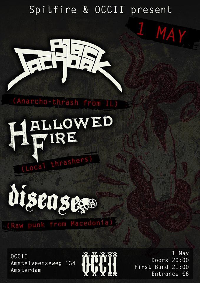 BLACK SACHBAK (IL) + HALLOWED FIRE + DISEASE (MK)
