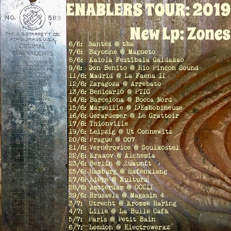 ENABLERS (US) + THE FIRE HARVEST + BHAJAN BHOY (UK)
