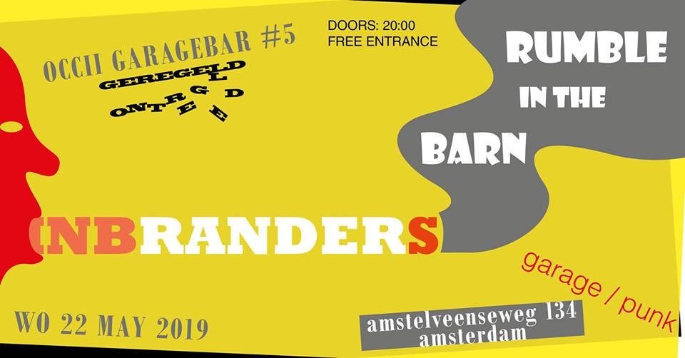 GARAGE BAR #5 w/ RUMBLE IN THE BARN + INBRANDERS