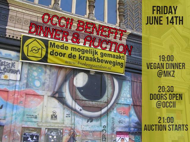 OCCII Crowdfunding Benefit: Dinner & Auction in MKZ