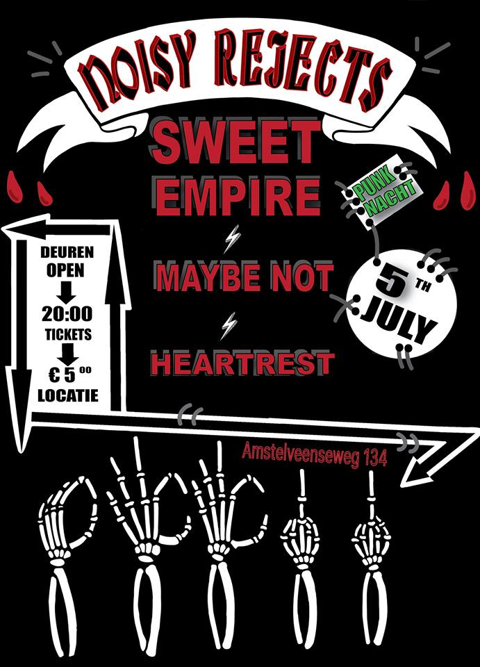 HEARTREST + MAYBE NOT + SWEET EMPIRE