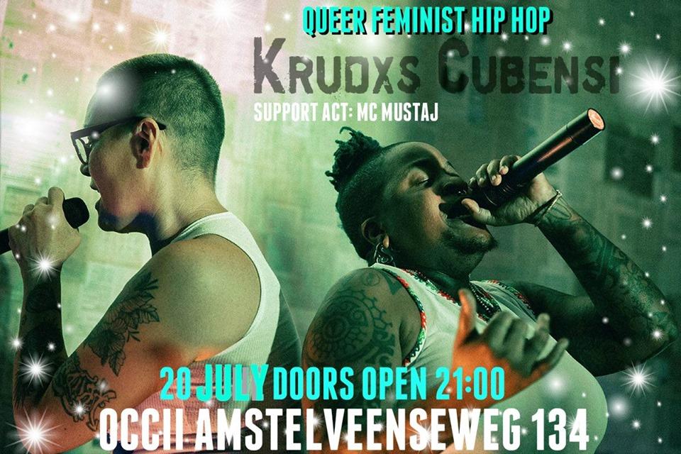 KRUDXS CUBENSI (CUBA) + MC Mustaj + LGCA! + DJ Gay-Lo