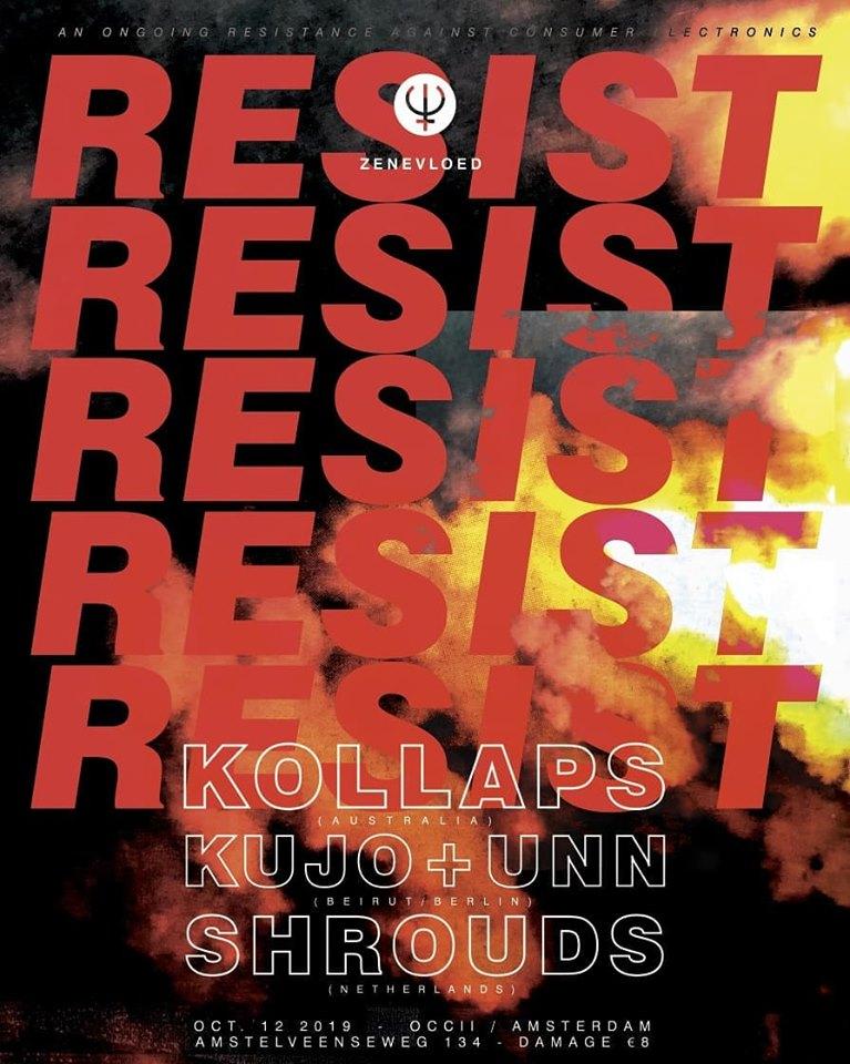 Romantic Industrialism w/ KOLLAPS (AU, Cold Spring) + UNN & KUJO (DE/LE) + SHROUDS