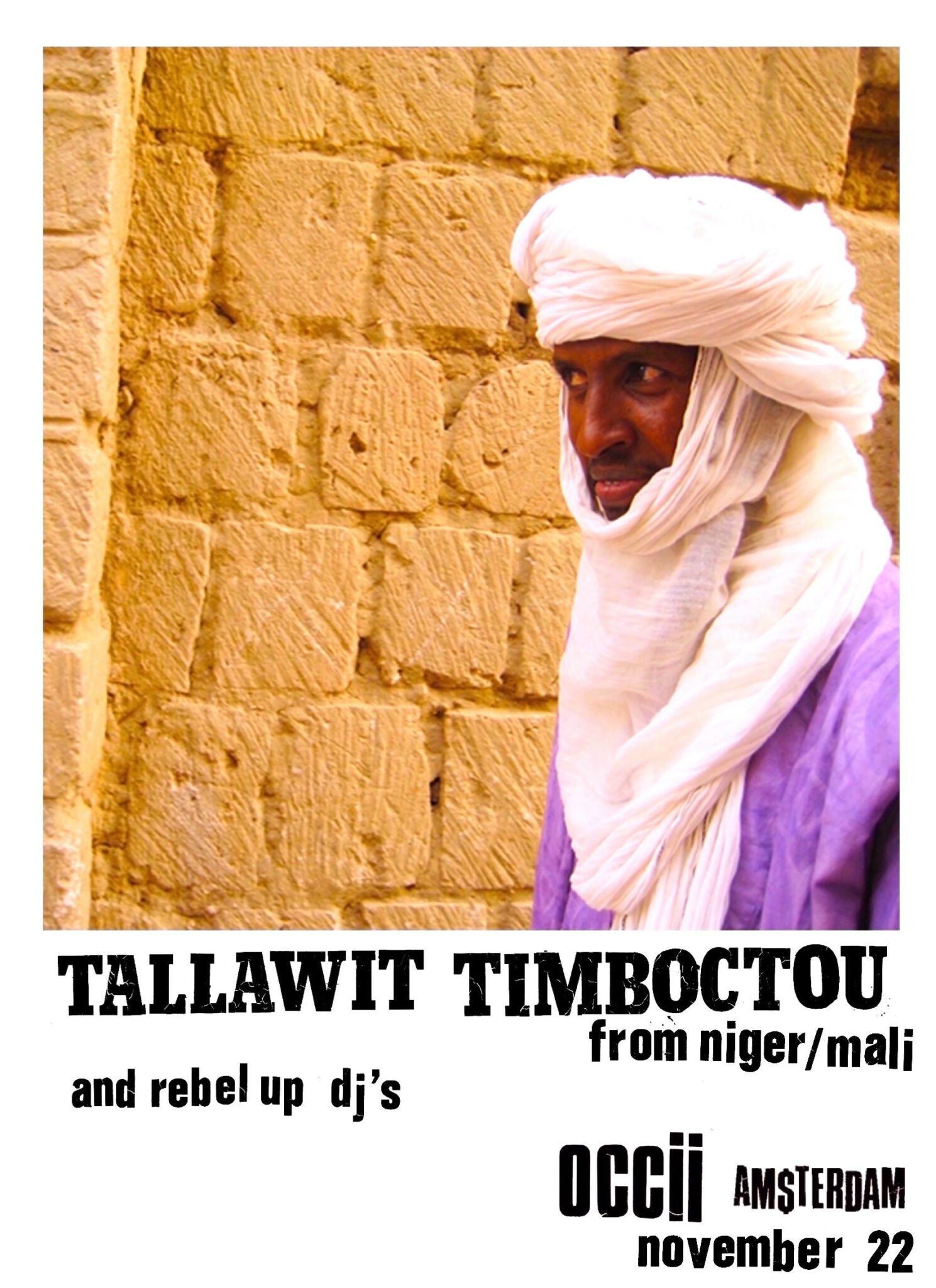 CANCELLED << TALLAWIT TIMBOUCTOU (Niger/Mali) >> CANCELLED !!!