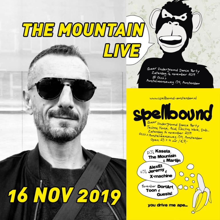 SPELLBOUND DJ'S & THE MOUNTAIN + VJ'S ALEXETJEREMY
