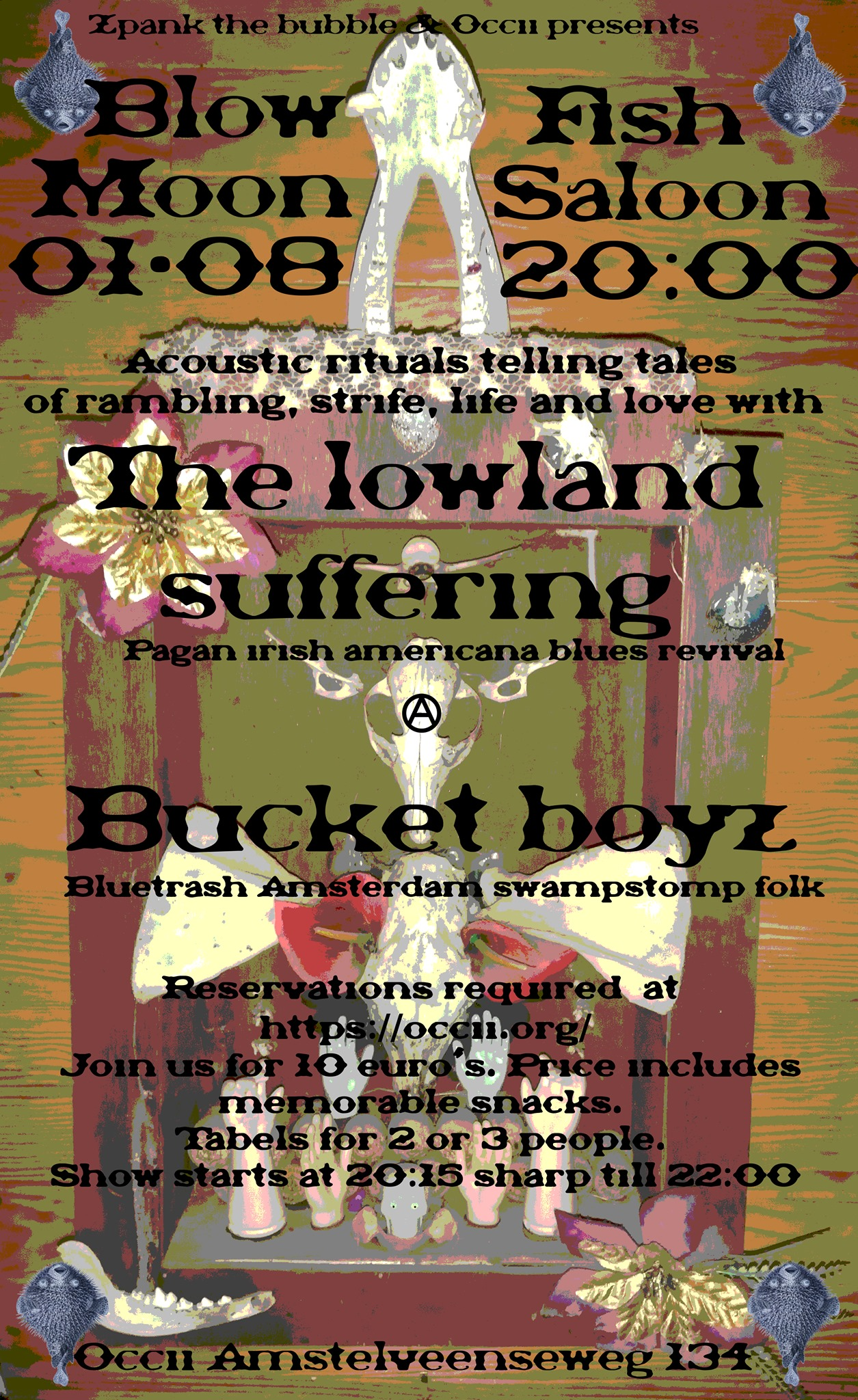 !SOLD OUT! THE LOWLAND SUFFERING + THE BUCKET BOYZ