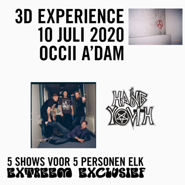 ⚡️🪑SOLD OUT 🪑⚡️ HANG YOUTH // 3D EXPERIENCE