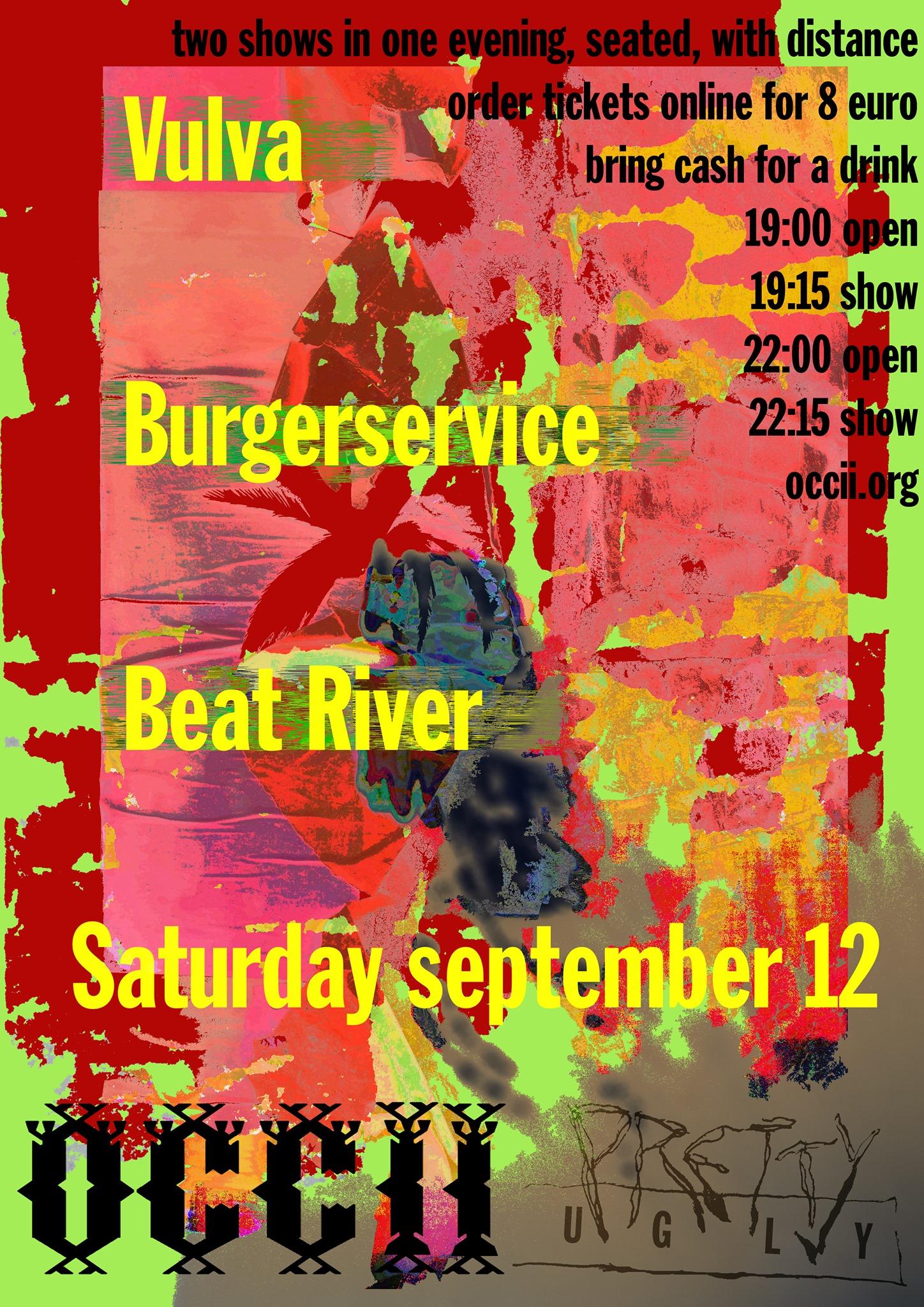 VULVA + BURGERSERVICE + BEAT RIVER
