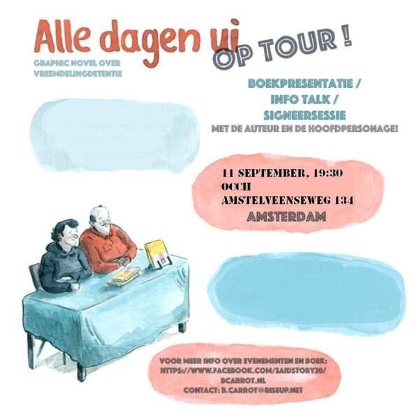 Boekpresentatie | Info Talk | Fort van Sjakoo & OCCii present: B. Carrot's graphic novel 'Alle dagen ui'