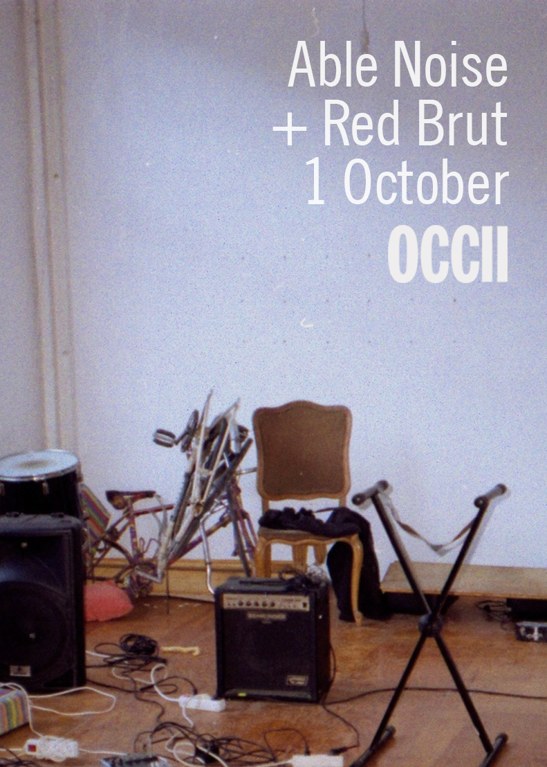ABLE NOISE (int'l) + RED BRUT