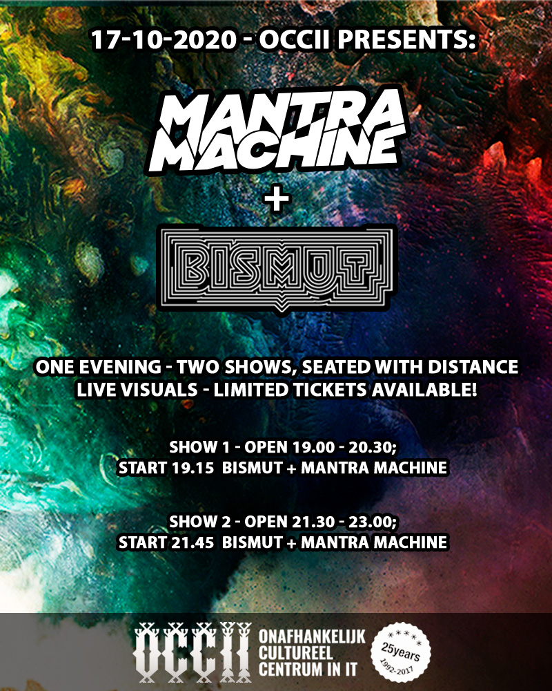 [POSTPONED!] MANTRA MACHINE + BISMUT