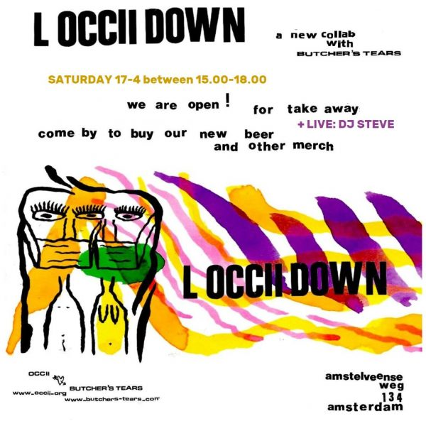 L'OCCiiDOWN TAKE AWAY + DJ STEVE