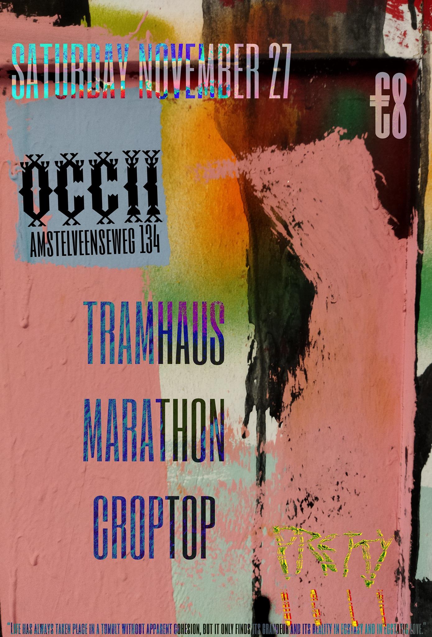 TRAMHAUS + MARATHON + CROPTOP