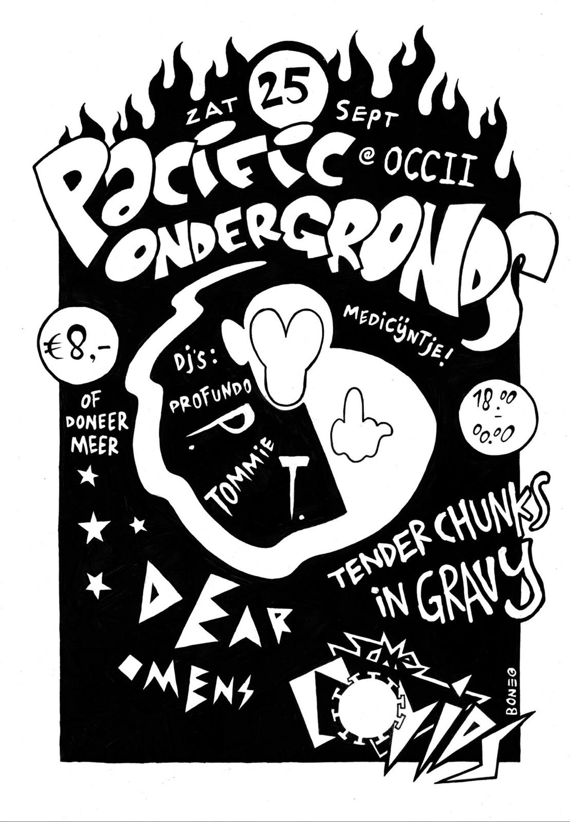[sold out] TENDER CHUNKS IN GRAVY + DEAR OMENS + THE COVIDS + DJ's PROFUNDO P. & TOMMY T.