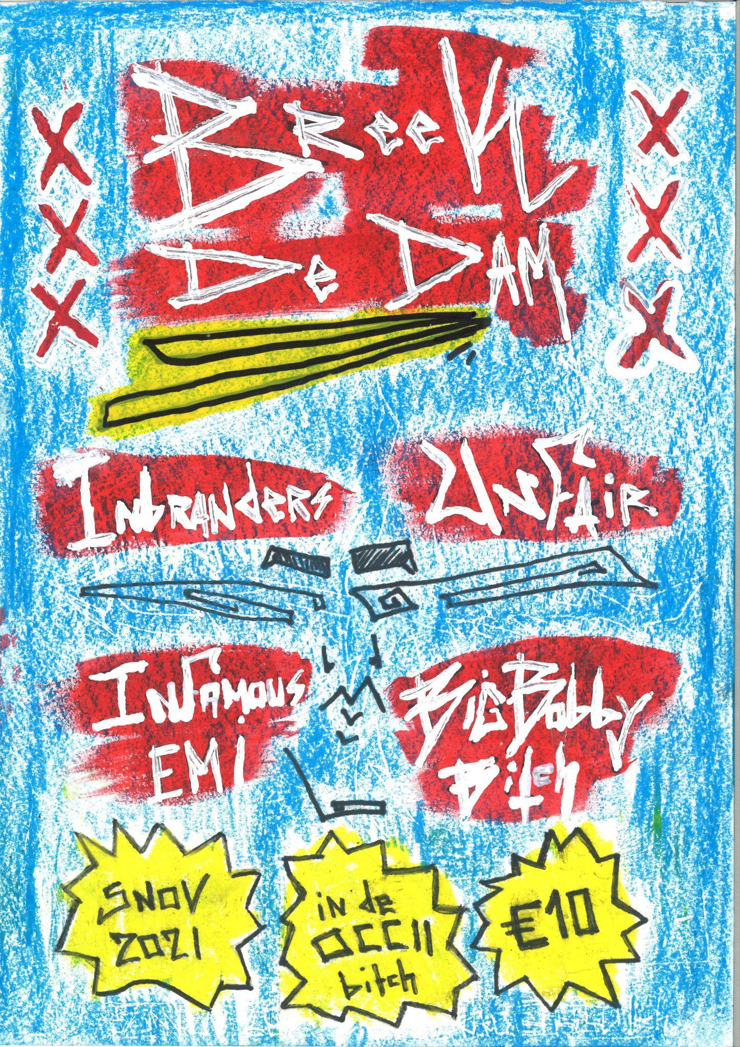INBRANDERS + INFAMOUS EMI + BIGBOBBYSHYT + UNFAIR